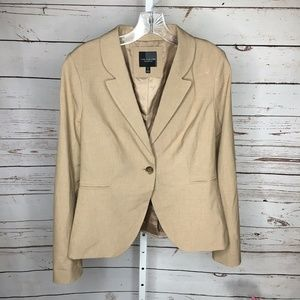 The Limited Button Blazer 8 tall